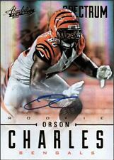 PH) 2012 Absolute Spectrum Gold Autographs AUTO #176 Orson Charles #191/299