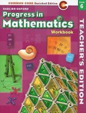 Progress in Mathematics: Commom Core Enriched Edition: Workbook (Teacher's Editi