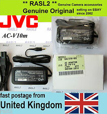 Genuino Original JVC Adaptador De Corriente Alterna AC-V10m Everio Sd Videocámara