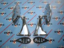 1954 1955 1956 Buick Outside Rear View Mirrors | Pair | Show Quality