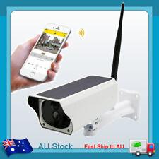 2MP Outdoor Solar Waterproof Wireless WiFi 1080P Security IP Camera Night Vision