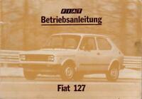 FIAT  127  Betriebsanleitung  1977 Bedienungsanleitung Handbuch Bordbuch  BA