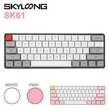 Geek SK61 Gateron 61 keys 60% RGB Backlight Custom Mechanical Gaming Keyboard