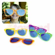 GIANT OVERSIZED JUMBO FUN SUNGLASSES JOKE FANCY DRESS PARTY FESTIVAL BIRTHDAY