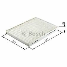 BOSCH Activated Carbon Cabin Filter 1987432360 - Single