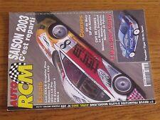 $$$ Revue Auto RCM N°259 Losi XXX-SThunder Tiger TS-2nFG EvolutionBRX-4