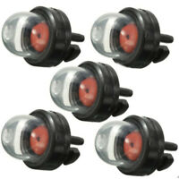 5pcs Snap in Primer Fuel Bulb Pump for Stihl Ryobi WALBRO HUSQVARNA Echo Zama