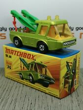 MATCHBOX SUPERFAST No.74c Tow Joe Truck MIB. Original vintage diecast