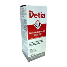 Detia Gazon-Sans Dicotex 250 ML Désherbant Lutte contre les Mauvaises Herbes