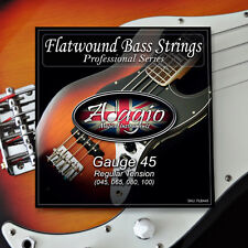 Adagio Flatwound Electric Bass Strings Set Gauge 45-100 ✯✯✯✯✯ RRP £29.99