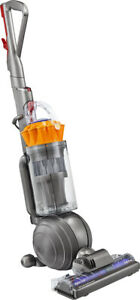 Dyson - Ball MultiFloor Upright Vacuum - Iron/Yellow Best Ever