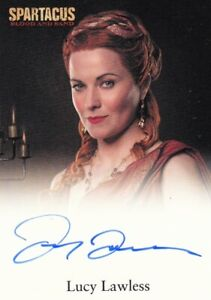 Spartacus Blood & Sand Lucy Lawless as Lucretia Auto Card