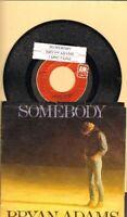 Adams, Bryan - Somebody/Long Gone Vinyl 45 rpm record Free Shipping