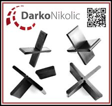 4000 Stk. Fugenkreuze 3 mm/20 mm für Terrassenplatten Bodenplatten Fliesenkreuze