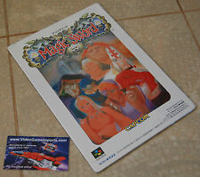 Tokuma Super Famicom Revista Nuevo Sonido del juego Museo Cd De Música Vol. 3 Magic Sword