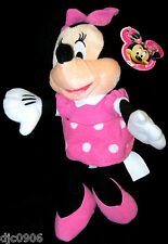 "DISNEY 10"" MINNIE MOUSE PLUSH TOY-LICENSED STUFFED TOY-DISNEY PLUSH-NEW W/TAGS"