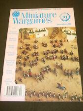 MINIATURE WARGAMES - CHRISTMAS QUIZ - DEC 1990 # 91