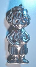 Mexican Jewelry Taxco Silver Pendant Brooch Mexico TS-01 Sterling Child 00475