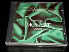 Reader's Digest - Mozart - Favourites From The Classics - 3 CD's Box Set - 1991