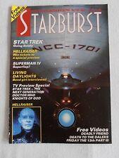 STARBURST MAGAZINE SEP 1987 No 109 STAR TREK HELLRAISER SUPERMAN IV