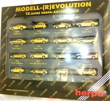Model R Evolution 15 Jahre Herpa Car 166096 H0 1:87 ORIGINAL PACKAGING