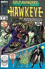 Solo Avengers Hawkeye Comic Issue 20 Copper Age First Print Mackie Wilson Heck