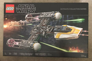 Lego 75181 Star Wars Ultimate Collector Series Y-Wing Starfighter BOX IS DAMAGED