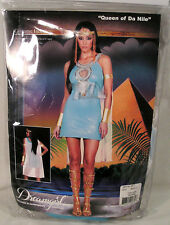"Women's Halloween Costume ""Queen of Da Nile"" Size M, Sexy Egytian Queen Dress"