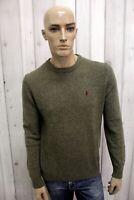 MARLBORO CLASSICS Maglione Uomo Taglia M Lana Casual Sweater Man Pullover Pull