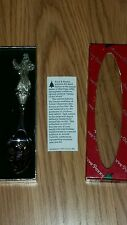 REED & BARTON SILVER PLATE COLLECTOR SPOON in box PERE NOEL 1999