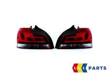 NEW BMW GENUINE 1 SERIES E82 E88 BLACK LINE REAR TAIL LIGHTS N/S + O/S 2225381