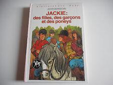 BIBLIOTHEQUE ROSE - JACKIE: DES FILLES, DES GARCONS ET DES PONEYS- J. BERRISFORD