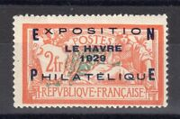 "FRANCE: TIMBRE ""EXPOSITION DU HAVRE"" YTN°257A NEUF** Cote: 1600,00€ Signé:Calves"