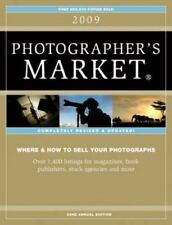 2009 Photographer's Market, Editors of Writers Digest Books, Good Condition, Boo