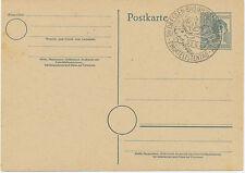 "AM 1947 12 Pf 2. Kontrollratsausgabe GA m SST ""DRESDEN – BAD WEISSER HIRSCH"""