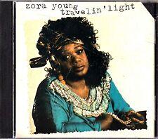 ZORA YOUNG- Travelin' Light CD (1992) Folk Blues Vocalist