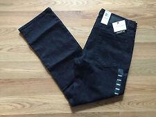 NWT Mens Calvin Klein Dark Rinse Wash Straight Leg Jeans Pants Size 32 W 30 L