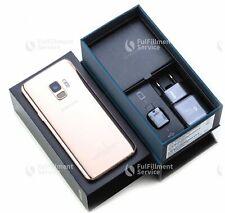 Samsung Galaxy S9 SM-G960 - 64GB - Sunrise Gold (Ohne Simlock) (Dual SIM)