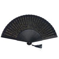 Japanese Traditional Silk Fan SENSU Hannya Shingyo Kanji Budda