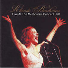 RHONDA BURCHMORE-LIVE MELBOURNE CONCERT HALL-BRAND NEW AND SEALED