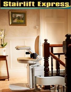 Brand new curved Brooks stairlift, installed with 12 month warranty**-