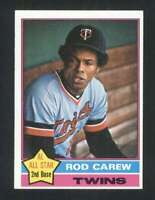 1976 Topps #400 Rod Carew NM/NM+ Twins 120972