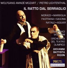 Il Ratto dal Serraglio / Wolfgang Amadeus MOZART/Pietro LICHTENTHAL / 2 CD Neuf