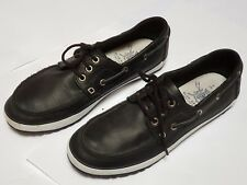 M&S Blue Harbour Blue Boat / Deck Shoes Leather Uppers UK 8 Excellent Condition