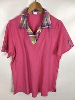 T-Shirt, rosa, Größe 46, Baumwolle
