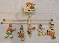 Vintage Originals By Irmi Nursery Wooden Circus Baby Crib Mobile 131811