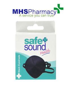 SAFE + SOUND BLACK EYEYSHADE *