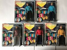 More details for mego palitoy star trek action figures 1974 rare 5 face set made exclusively