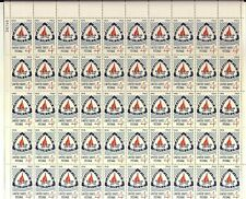 Camp Fire Girls full Sheet of 50 x 4 cents, Scott #1167 Mint, 1960