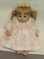 """12.5"""" Adorable Porcelain Baby by Dolls by Pauline"""